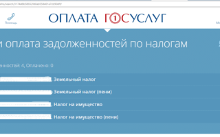 Как узнать налог на имущество физических лиц через интернет?