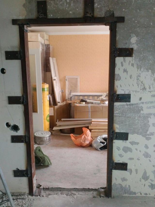 Перепланировка в доме П30 с проемом в несущей стене
