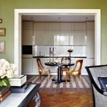 Перепланировка квартиры с устройством кухни-ниши