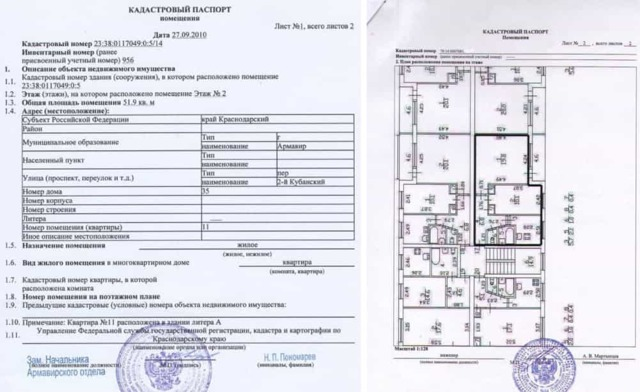Что такое кадастровый паспорт на квартиру и где его взять?