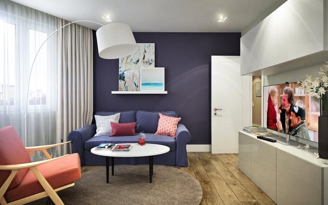 Объединение двух двухкомнатных квартир в серии П44