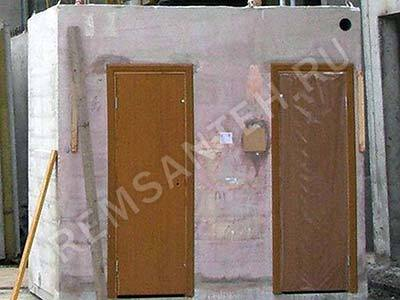 Сантехнический короб при перепланировке квартиры