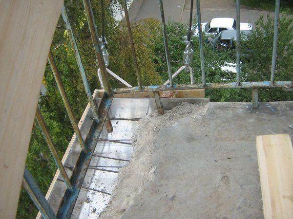 Расширение выхода на балкон при перепланировке