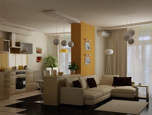 Перепланировка однокомнатной квартиры со свободной планировкой