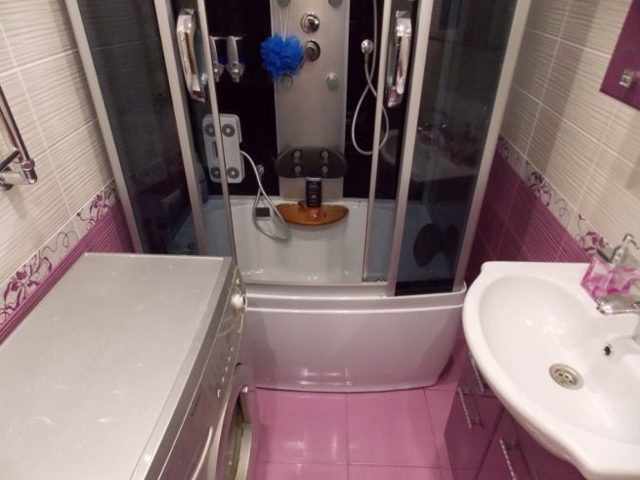 Перепланировка с устройством душ-трапа в квартире