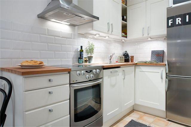 Размещение кухни в квартире со свободной планировкой