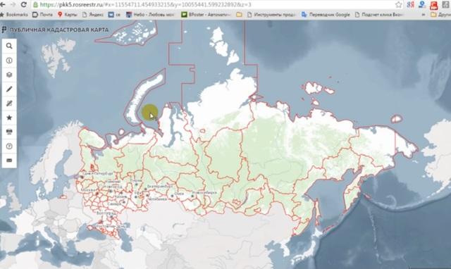 Как найти свободный земельный участок на кадастровой карте?