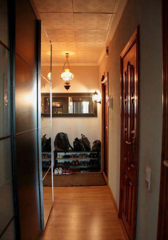 Перепланировка в трехкомнатной квартире серии П-44Т