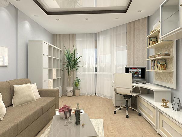Перепланировка однокомнатной квартиры в доме КОПЭ