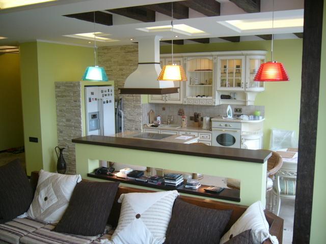 Увеличение площади кухни при перепланировке квартиры