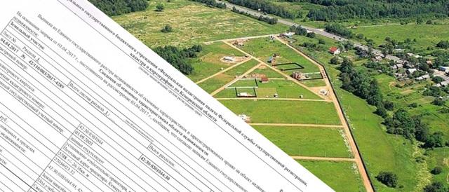 Образец выписки из ЕГРН на земельный участок