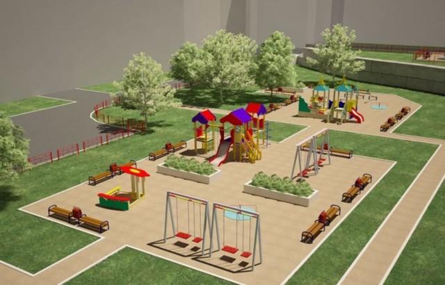 Оборудование детских площадок на придомовой территории