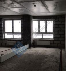 Квартира в новостройке без определения зон санузлов
